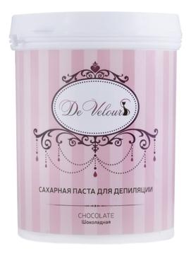 De Velours Паста Chocolate Сахарная для Депиляции Шугаринг - Шоколадная, 800г