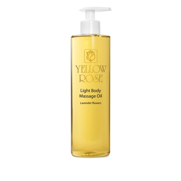 Yellow Rose Масло Light BodyMassage Oil - Lavander Flowers для Тела с Эфирным Маслом Лаванды, 500 мл цена