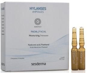 Sesderma Увлажняющее Средство в Ампулах HYLANSES, 5шт*2 мл витамины в 6 и в 12 в ампулах цена