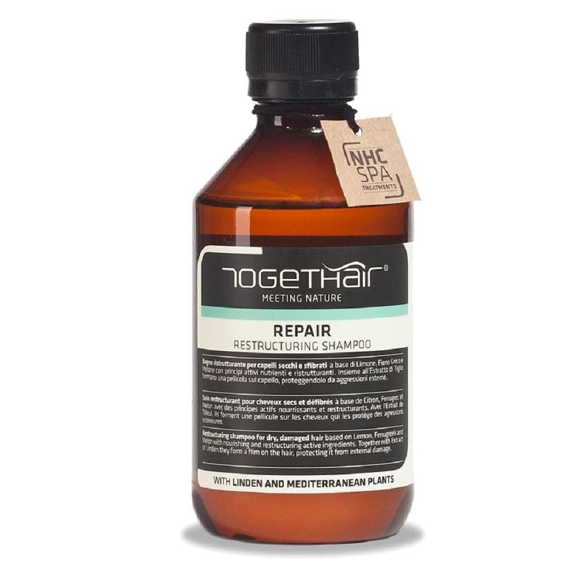 Togethair Шампунь Восстанавливающий  для Ломких и Повреждённых Волос Repair Shampoo, 250 мл latinoil chia repair shampoo восстанавливающий шампунь для волос с маслом чиа 985 мл