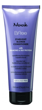 Nook Кондиционер BFree Starlight Blonde Conditioner Сияющий для Волос Цвета Блонд, 250 мл недорого