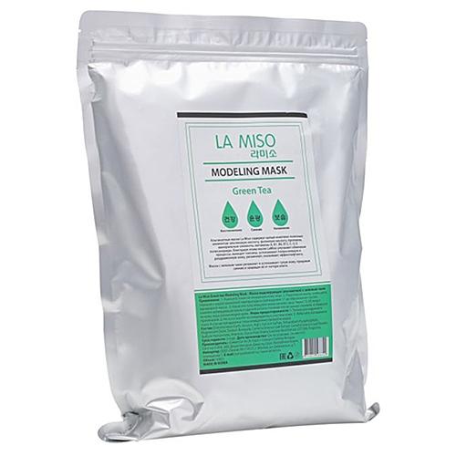 La Miso Маска Green Tea Modeling Mask Альгинатная с Зеленым Чаем, 1000г недорого