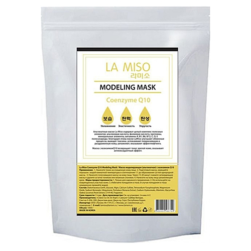 La Miso Маска Coenzyme Q10 Modeling Mask Альгинатная с Коэнзимом Q10, 1000г