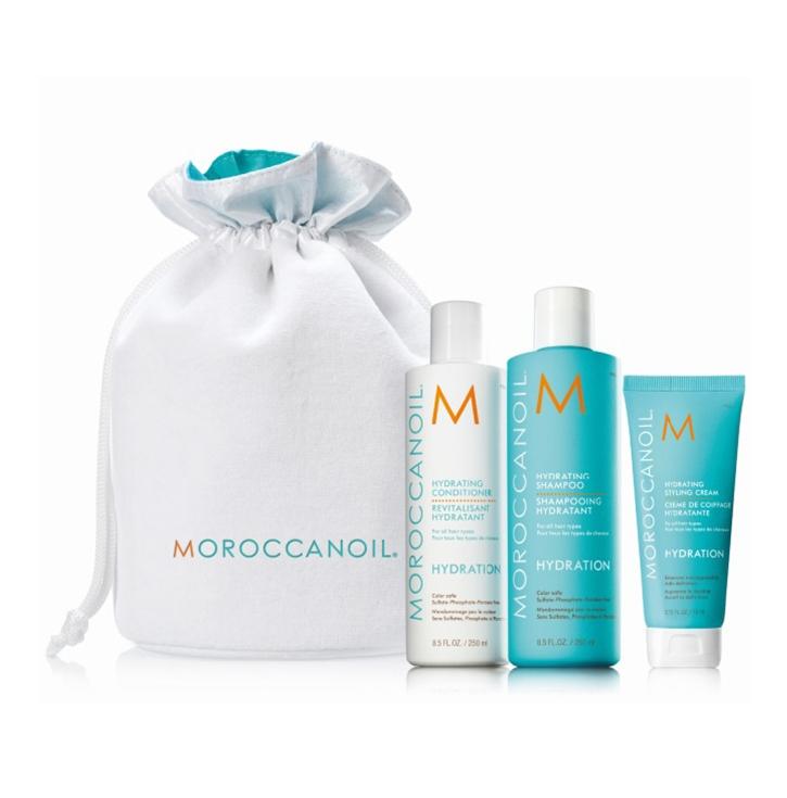 Moroccanoil Набор Hidrating/Увлажнение, 575 мл moroccanoil шампунь увлажняющий 250 мл