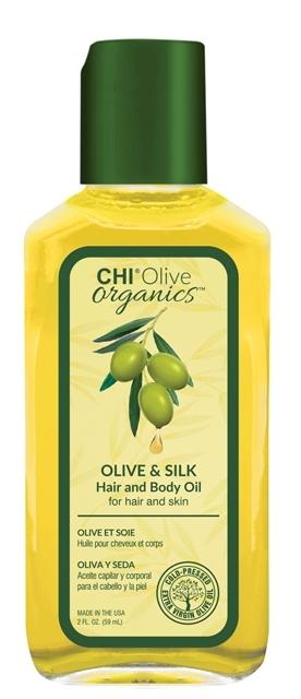CHI Масло для Волос и Тела Olive Organics, 59 мл для тела оливковое масло название