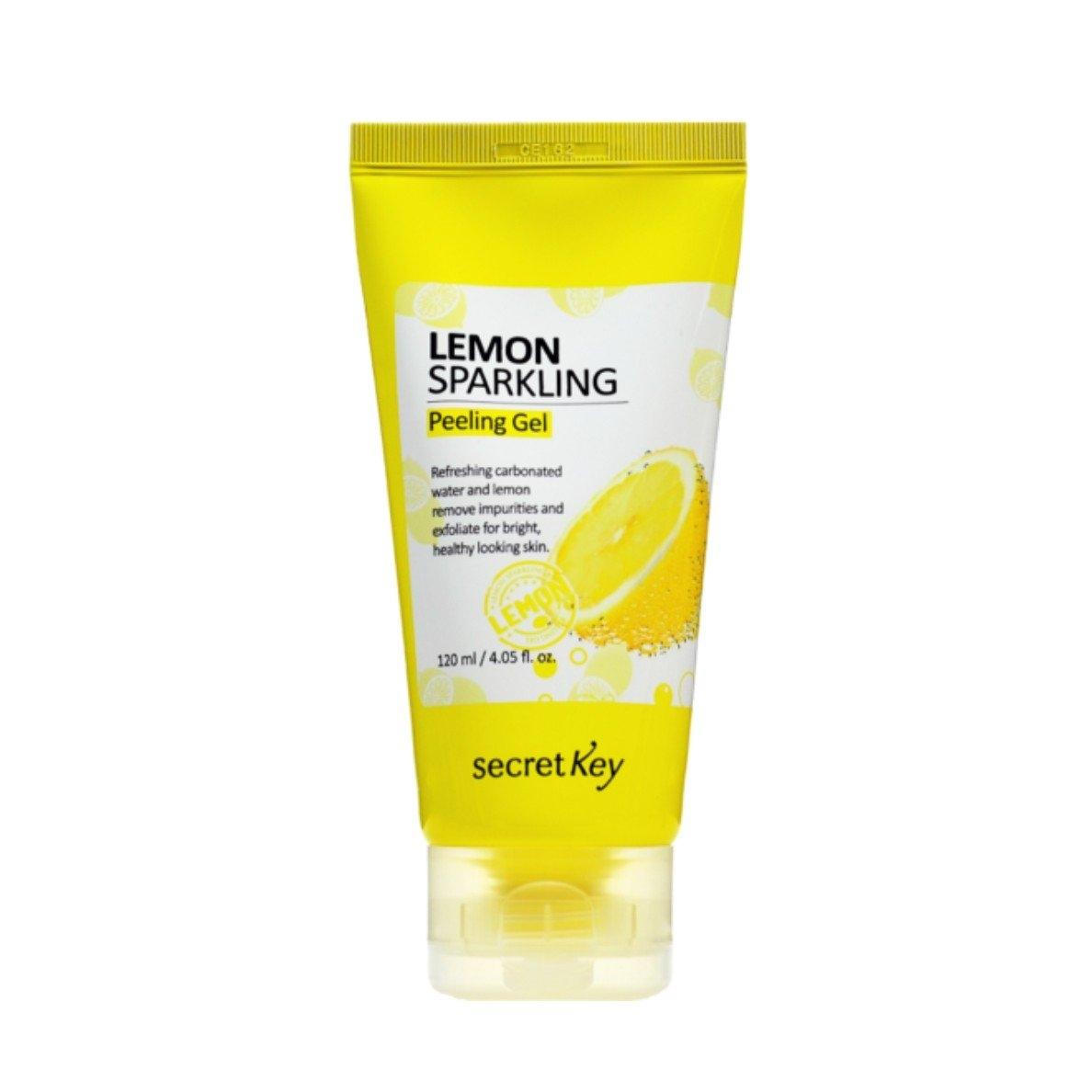 Secret Key Гель Lemon Sparkling Peeling Gel с Экстрактом Лимона, 120 мл