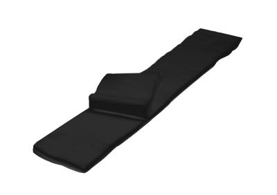 IGRObeauty Воротнички Спанлейс, Мягкие, Черные 8х40 см. 50гр/м2, 100 шт