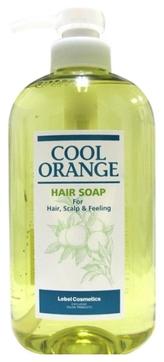 Lebel Cosmetics Шампунь Cool Orange Hair Soap Холодный Апельсин, 600 мл