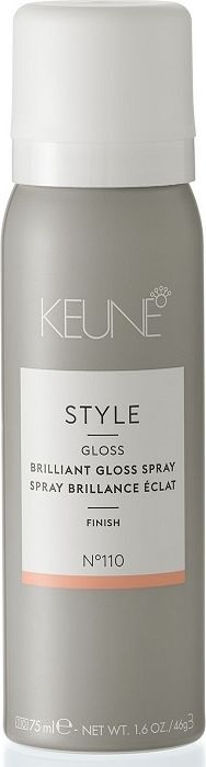 Keune Блеск-Спрей Style Brilliant Gloss Spray Бриллиантовый, 75 мл
