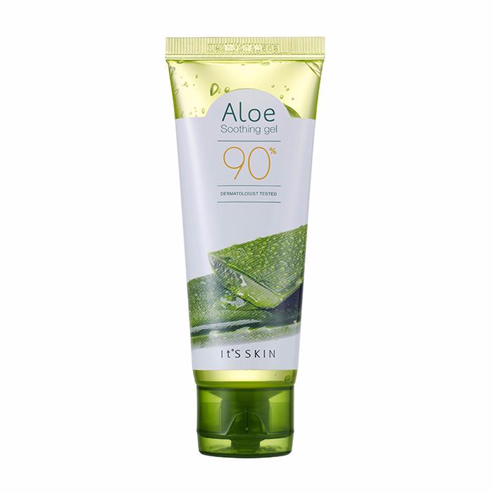 It's Skin Гель Aloe 90% Soothing Gel Освежающий с Алоэ Вера, 75 мл