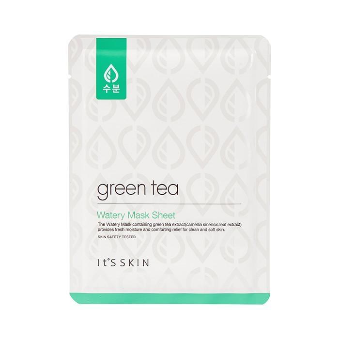It's Skin Маска Green Tea Watery Mask Sheet Тканевая для Жирной и Комбинированной Кожи с Зеленым Чаем, 17г недорого