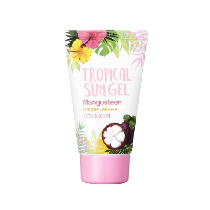 It's Skin Крем SPF50+ PA++++ Tropical Sun Gel Mangosteen Солнцезащитный для Лица, 50 мл средство от пигментации