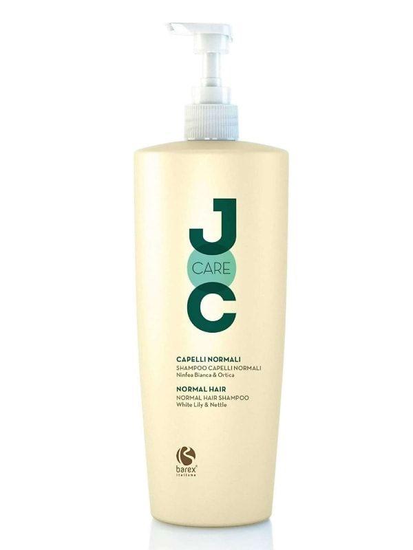 Barex Шампунь Joc Care Shampoo Capelli Normali Ninfea Bianca Ortica для Нормальных Волос Белая Кувшинка и Крапива, 1000 мл