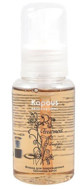 Kapous Treatment Флюид для Поврежденных Кончиков Волос, 60 мл