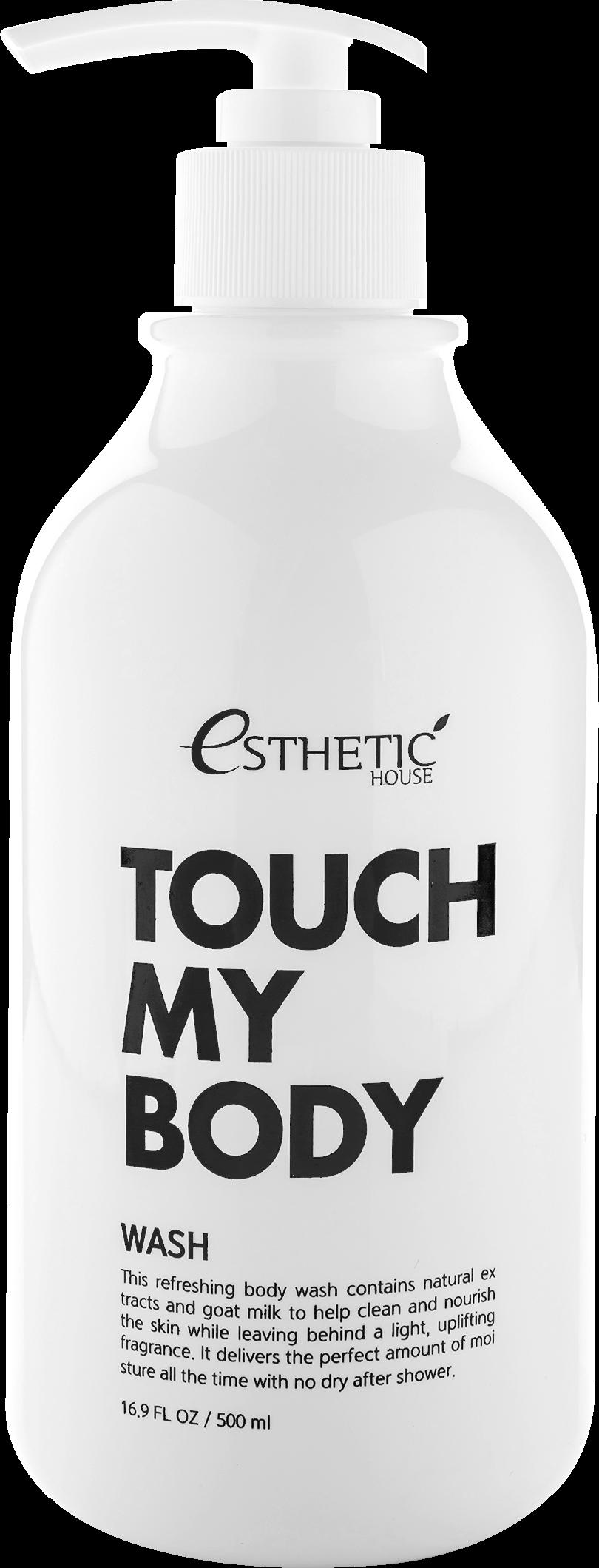 Esthetic House Гель My Body Goat Milk Wash для Душа с Козьим Молоком, 500 мл