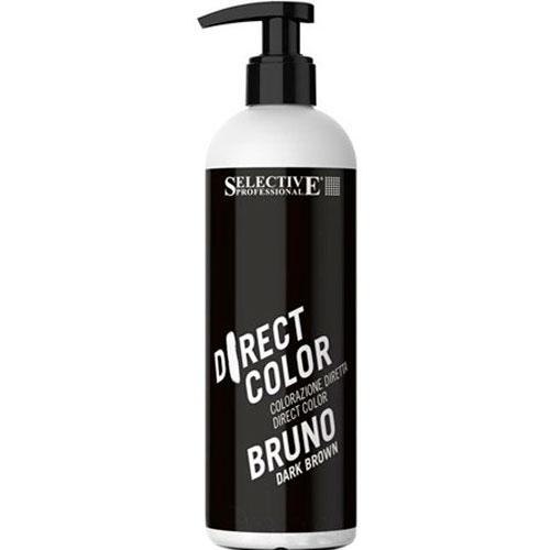 Selective Professional Ухаживающая Краска Темно-коричневый Direct Color, 300 мл