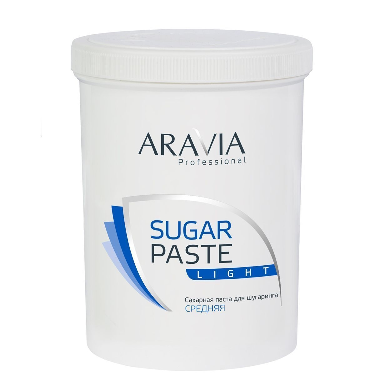 ARAVIA Сахарная Sugar Paste Паста для Депиляции Легкая Средней Консистенции, 1500г