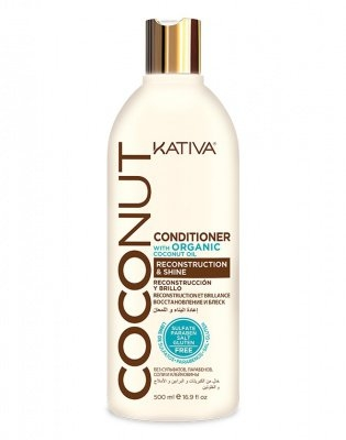 Kativa Кондиционер Восстанавливающий для Поврежденных Волос Coconut, 500 мл цена
