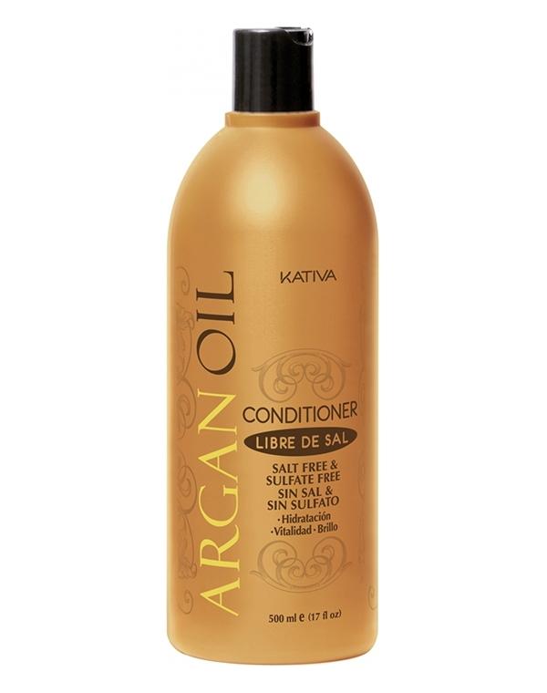 Kativa Кондиционер Argan Oil Увлажняющий для Волос с Маслом Арганы, 500 мл