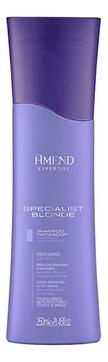 Amend Шампунь Shampoo Neutralizing Specialist Blond Нейтрализация Желтизны,  250 мл шампунь концепт от желтизны где купить