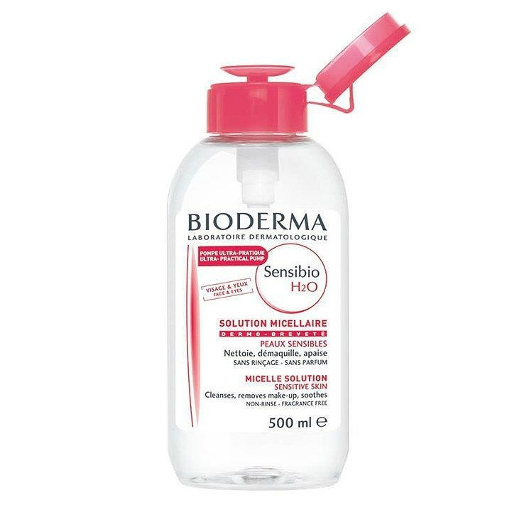 Bioderma Вода Sensibio Очищающая Флакон Сенсибио, 500 мл bioderma sensibio для глаз