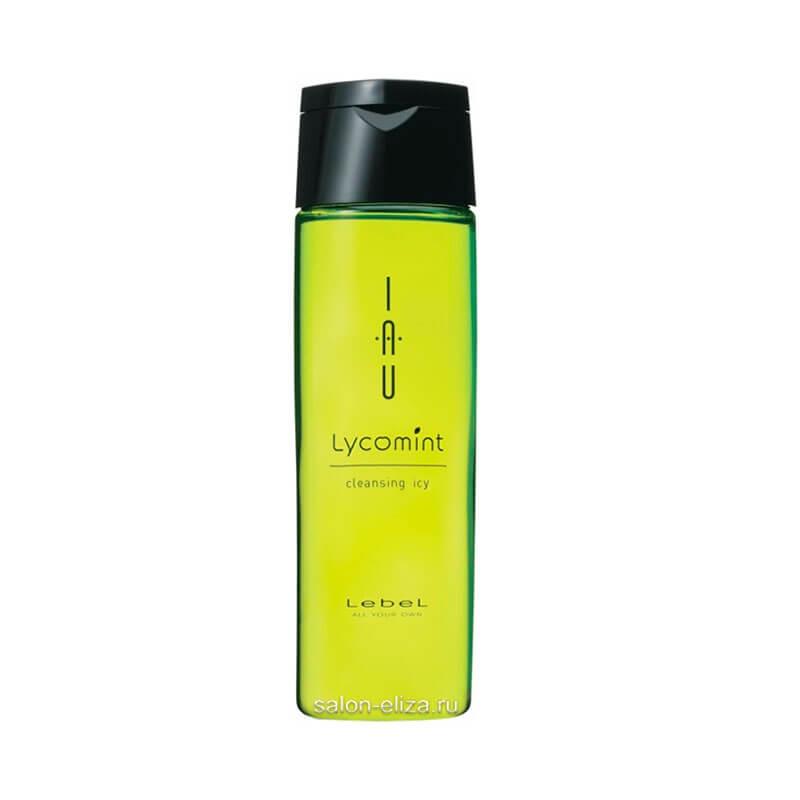 Lebel Cosmetics Iau Lycomint Cleansing Icy Охлаждающий Антиоксидантный Шампунь, 200 мл