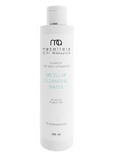 Mesaltera By Dr. Mikhaylova Мицеллярная Вода для Экспресс-Демакияжа Micellar Cleansing Water Eye&Face, 200 мл цены онлайн