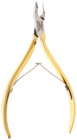 Metzger Кусачки Кутикульные, Длина 10 см, Лезвий: 6 мм, Золотые