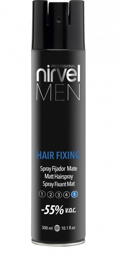 Nirvel Professional Лак Hair Fixing Матирующий для Волос Экстрасильной Фиксации, 400 мл цена