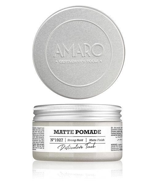 Farmavita Воск Amaro Matte Pomade Матовый, 100 мл воск уход для бороды и усов re style 233 30 мл