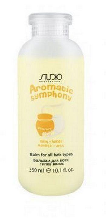 Kapous Studio Professional Бальзам для Всех Типов Волос Aromatic Symphony Молоко и Мёд, 350 мл
