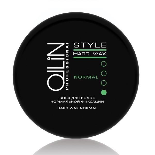 OLLIN PROFESSIONAL STYLE Воск для Волос Нормальной Фиксации Hard Wax Normal, 50 г (75 мл) sebastian жидкий воск для фиксации и текстуры resintek 75 мл