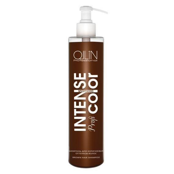OLLIN PROFESSIONAL INTENSE Profi COLOR Шампунь для Коричневых Оттенков Волос Brown Hair Shampoo, 250 мл