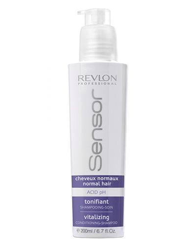 REVLON Шампунь-Кондиционер, Придающий Энергию для Нормальных Волос (Синий), 200 мл dikson укрепляющий шампунь с гидрализованными протеинами риса для нормальных волос 1000 мл