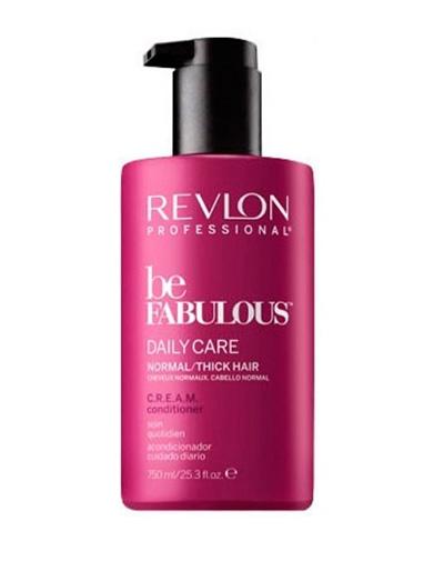 REVLON Кондиционер для Густых и Нормальных Волос BE FABULOUS, 750 мл revlon кондиционер анти вымывание цвета без сульфатов 750 мл