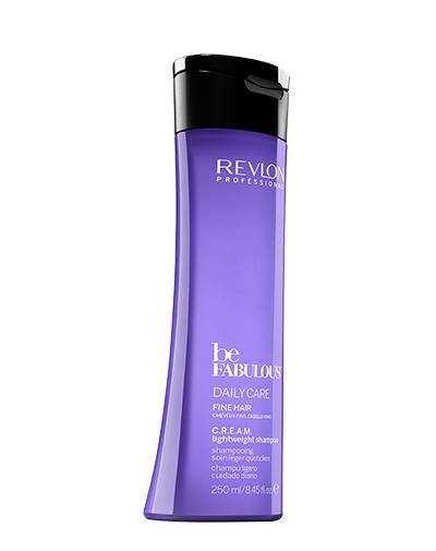 REVLON Очищающий Шампунь для Тонких Волос BE FABULOUS, 250 мл