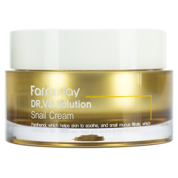 FarmStay Крем с Муцином Улитки Solution Snail Cream, 50 мл