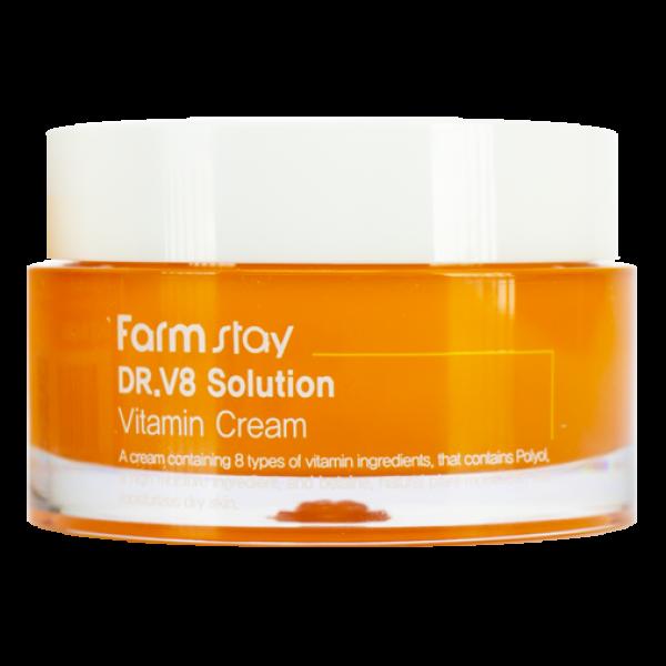 FarmStay Крем с Витаминами Solution Vitamin Cream, 50 мл