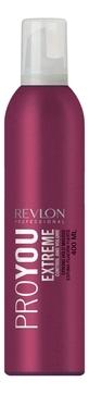 REVLON Мусс для Волос Сильной Фиксации PRO YOU EXTREME, 400 мл мусс д волос professional touch pro vitamin b5