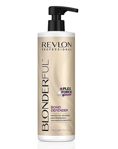 REVLON Средство для Защиты Волос после Обесцвечивания Blonderful Bond Defender, 750 мл revlon бальзам для экспресс увлажнения волос instant hydra 750 мл