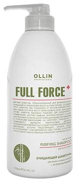 OLLIN PROFESSIONAL FULL FORCE Очищающий Шампунь для Волос и Кожи Головы с Экстрактом Бамбука, 750 мл
