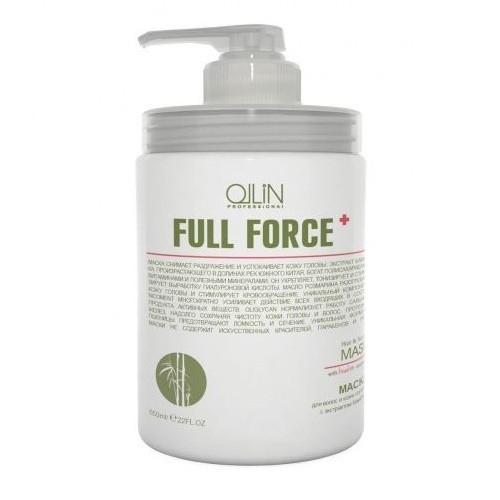 OLLIN PROFESSIONAL FULL FORCE Маска для Волос и Кожи Головы с Экстрактом Бамбука, 650 мл