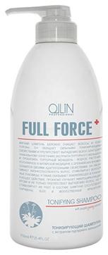 OLLIN PROFESSIONAL FULL FORCE Тонизирующий Шампунь с Экстрактом Пурпурного Женьшеня, 750 мл