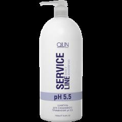 OLLIN PROFESSIONAL SERVICE LINE Шампунь для Ежедневного Применения Daily Shampoo pH 5.5, 1000 мл line шампунь