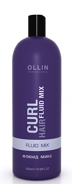 OLLIN PROFESSIONAL CURL HAIR Флюид Микс Fluid Mix, 500 мл флюид c ehko keratin farbglanz hair fluid 7 10 мл