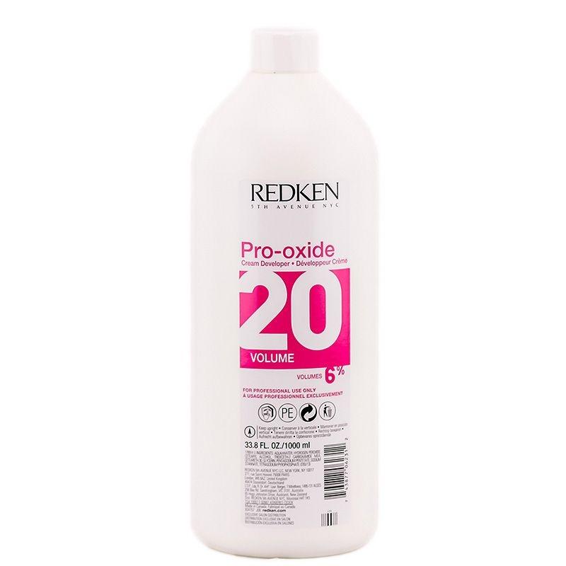 REDKEN Про-Оксид 20 Волюм крем-проявитель (6%) , 1000 мл 2018 набор волюм хай райз 1 шт redken high rise