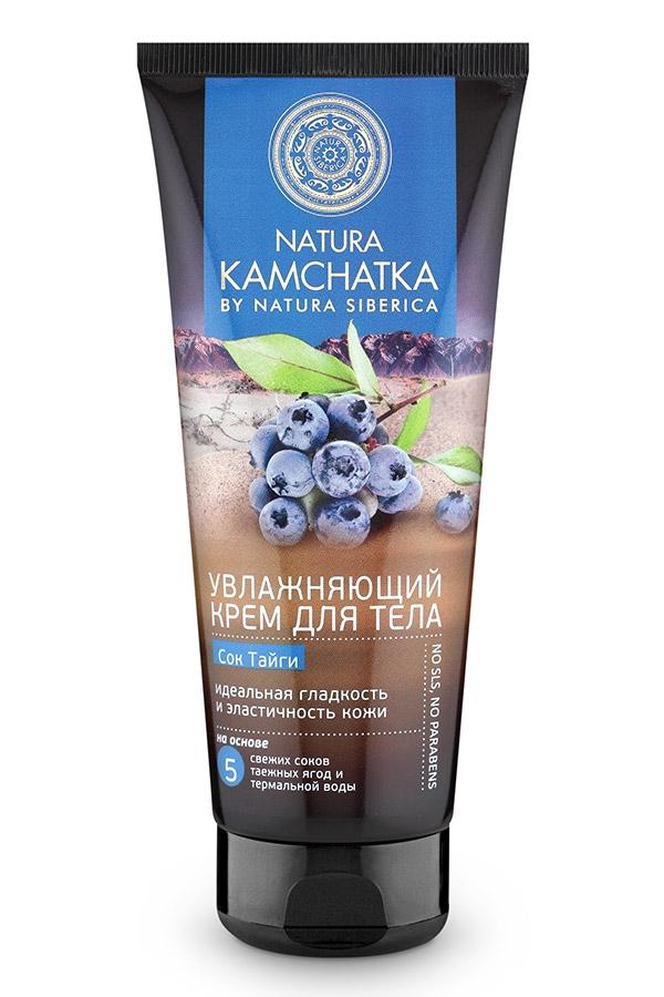 Natura Siberica Крем Kamchatka для Тела Увлажняющий Сок Тайги Гладкость и Эластичность Кожи, 200 мл