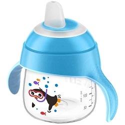 AVENT Philips Чашка-Поильник (200 мл, 6 мес+) Голубой для Детей до 3-х Лет