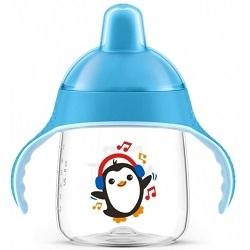 AVENT Philips Чашка-Поильник, (260 мл, 12 мес+) Голубой для Детей до 3-х Лет