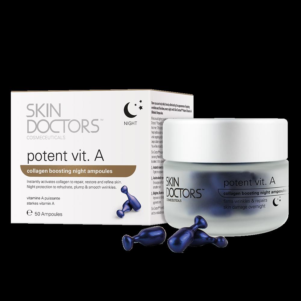 Skin Doctors Cosmeceuticals Ночная Концентрированная Сыворотка Potent Vit.А, 50 Капсул*0,3 мл